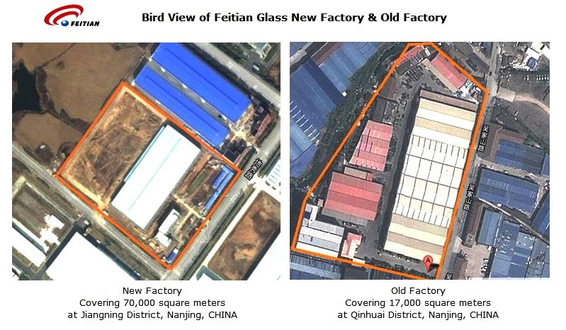 玻璃 南京/飞天玻璃新老工厂俯视图 点击数:0 时间:2014/5/7 12:03:49